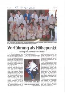 AZ_11.04.20145_G-Judoka_Trainingswochenende