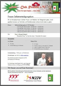 Frauen-SV Kurs 2016_Bild_Ausschreibung